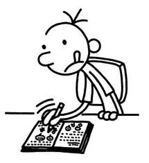 Diary Of A Wimpy Kid Cabin Fever Coloring Pages